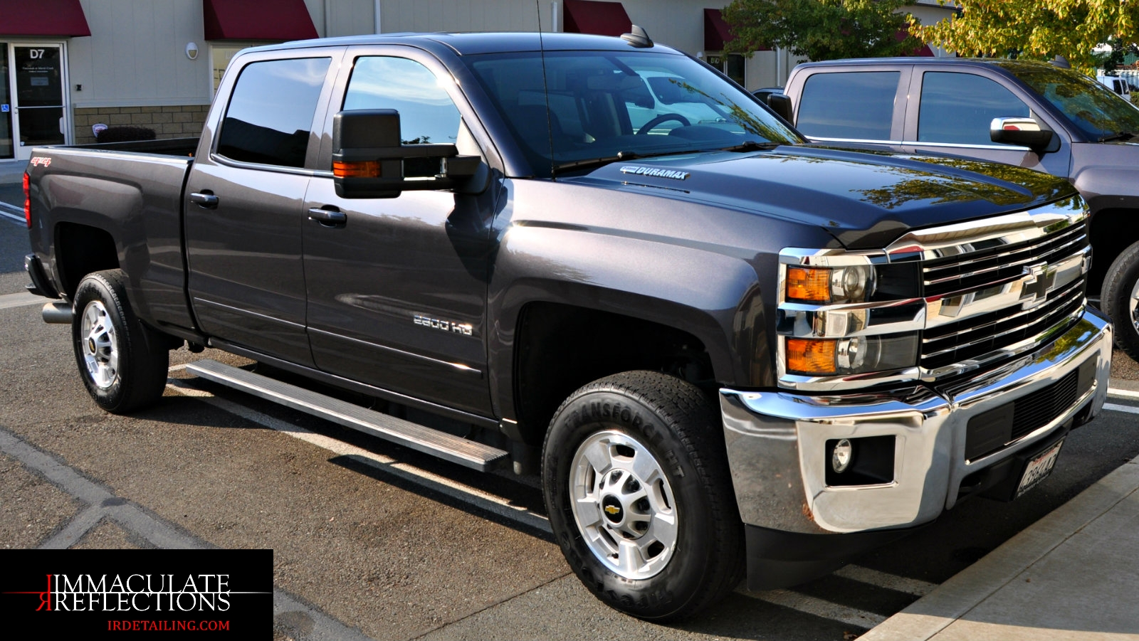 This Chevy Silverado is now as pretty as she is rugged thanks to an Automotive Paint Correction by Immaculate Reflections of Brentwood.