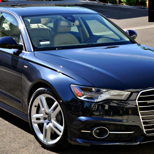 This Audi A6 is a sight to behold thanks to detailing services by Immaculate Reflections of Brentwood ca.
