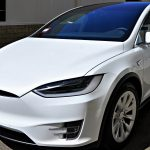 Tesla Model X received Paint Correction & Cquzrtz Finest Paint Coating by Immaculate Reflections East Bay S.F.