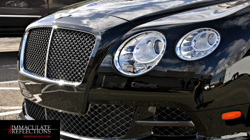 IRDetailing.com gives a luxury shine to all vehicles, including this Bently Contintental GT.