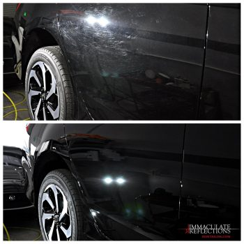 Paint Correction Before and After Shots by IRDetailing.com on this Honda Accord